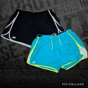UA Under Armour Track Running Shorts